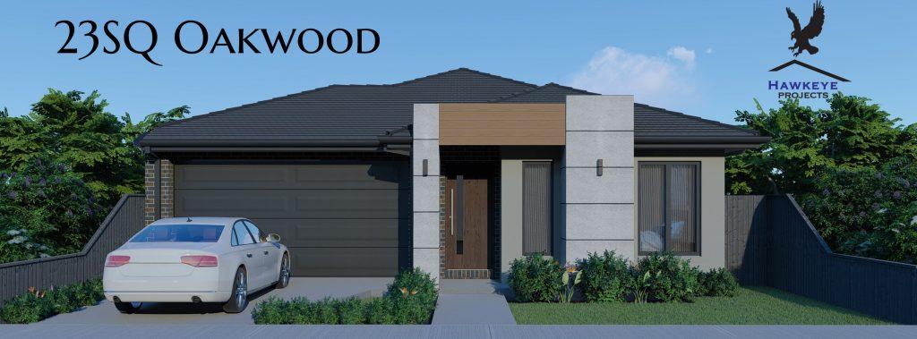 23Sq Oakwood with Matrix Feature
