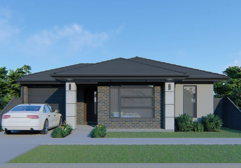 18Sq Amaroo with Barestone Feature Hawkeye Projects Melbourne Builder Northern Suburbs home and land packages