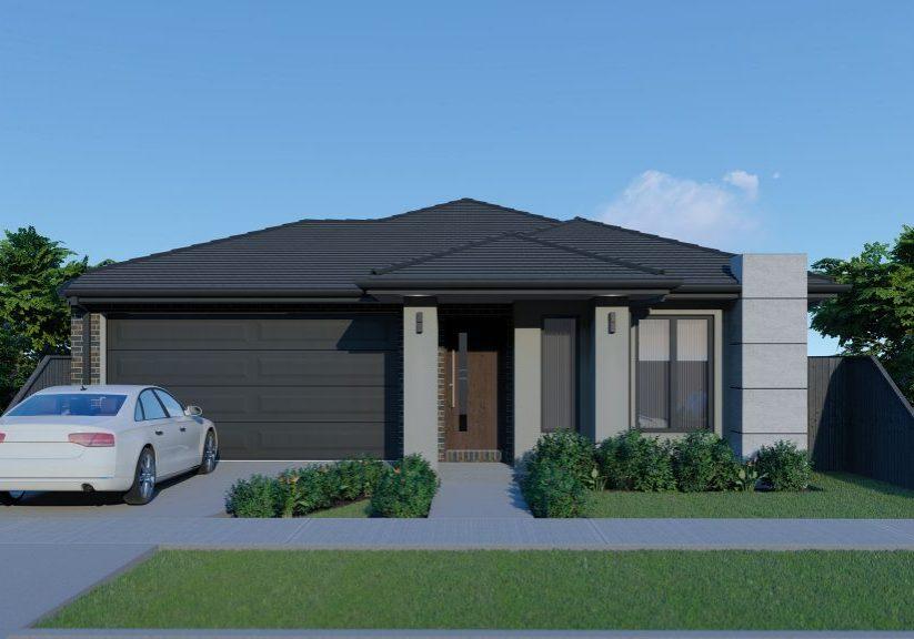 Hawkeye Projects New Homes Melbourne 23Sq Echuca Barestone