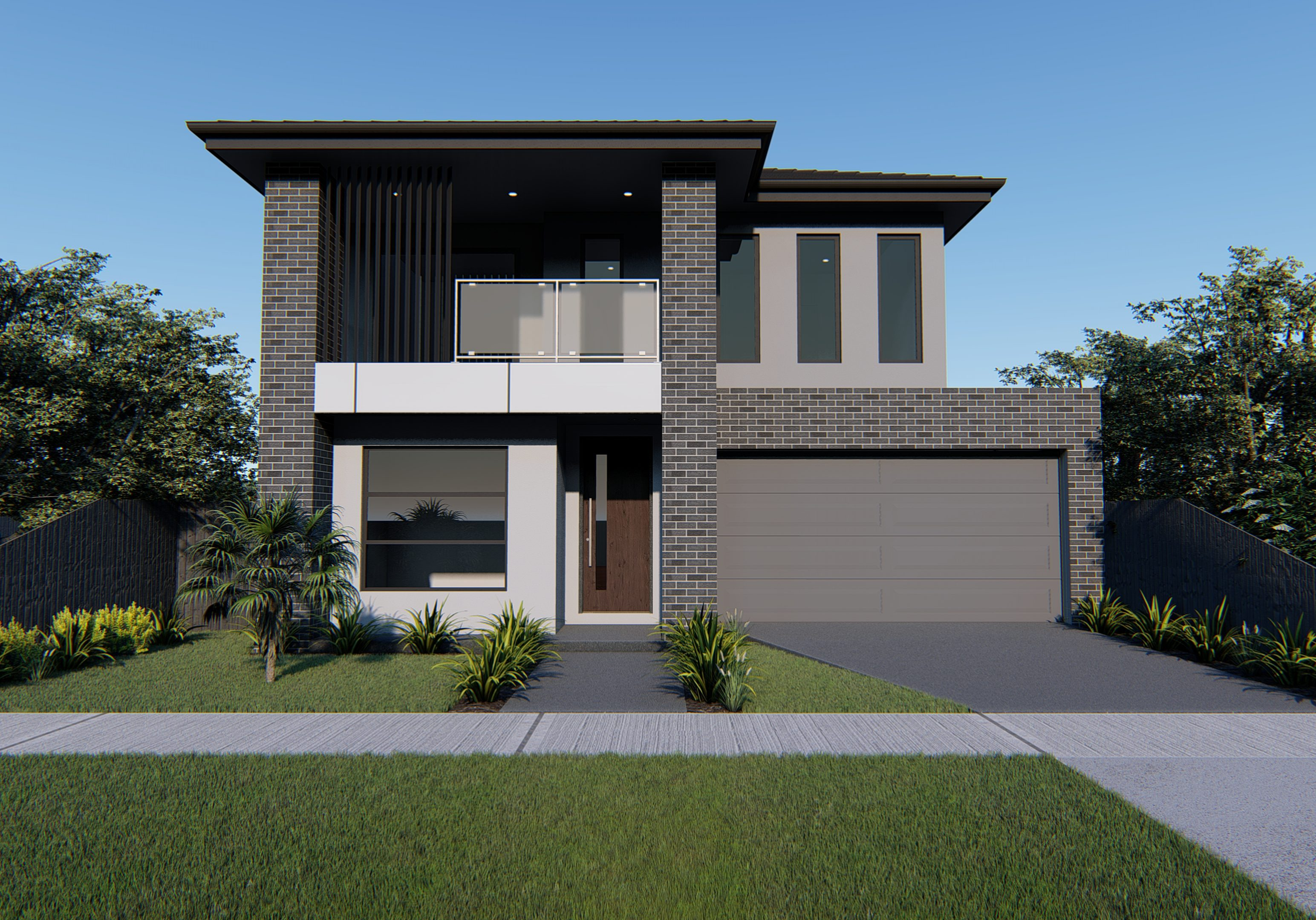 Hawkeye Projects New Homes Melbourne 28 Square home Euora Julez with Matrix Brick